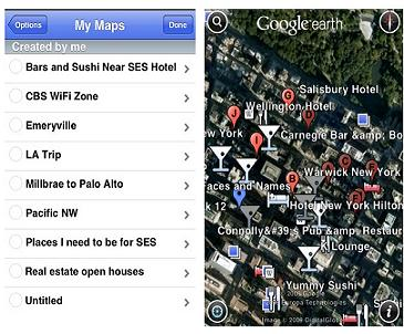 Google Earth on Android Devices