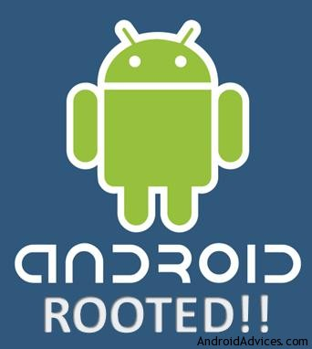 Android rooting logo
