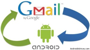 G mail Android sync
