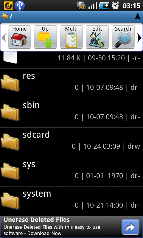 astro file manager system