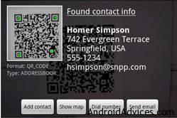 barcode scanned