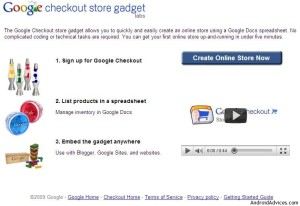 google check out store