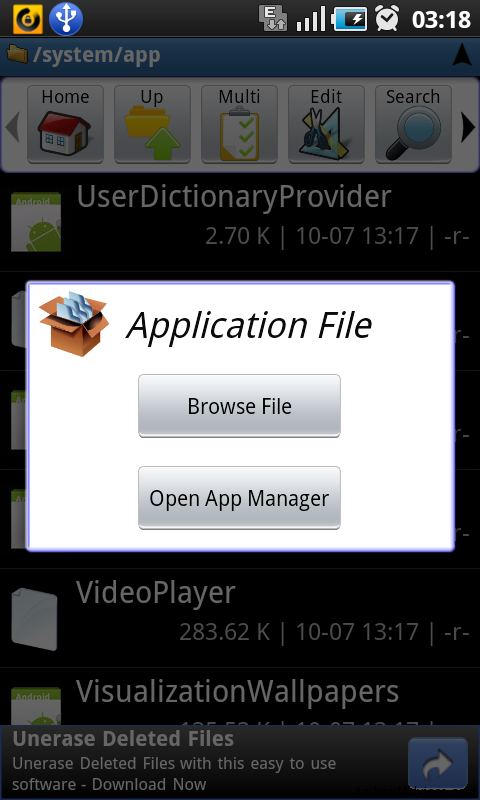 vending apk manager