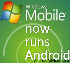 Windows Mobile Android Logo