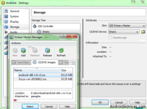 android virtual manager media