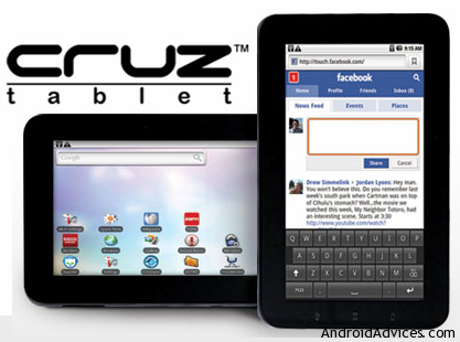 cruz tablet logo