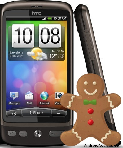 htc desire a8181 software update