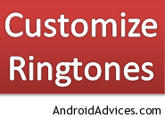 Customize Ringtones
