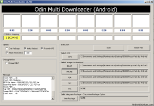 Load Files in Odin