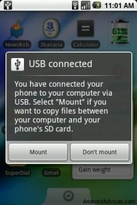 Mount SD Card