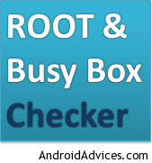 Root & Busybox Checker Logo