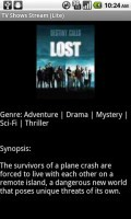 TV Shows Synopsis