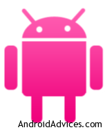 Android PINK Logo