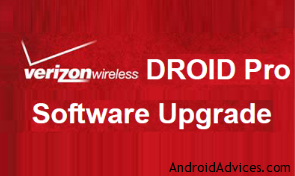 Droid Pro Software Update Logo
