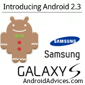 Samsung Galaxy S I9000 to stable Gingerbread XWJVB 2.3.3 Firmware ...