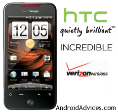 HTC INCREDIBLE Logo