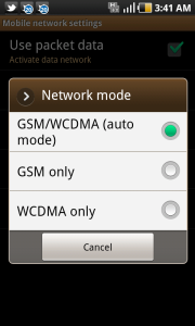 Network Mode