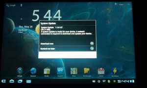 Acer Iconica Update