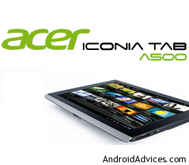 Acer iconica Tab A500