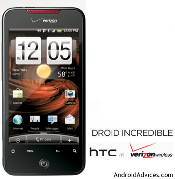 HTC Droid Incredible Logo