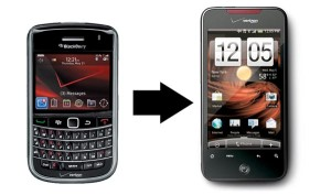 Blackberry to Android Transfer
