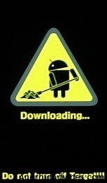 Galaxy Captivate Download Mode