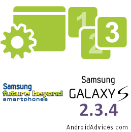 Galaxy S New Logo