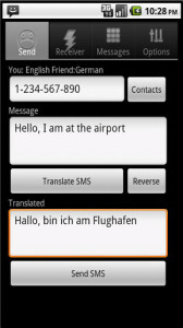 SMS Translator Android App