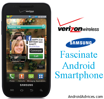 Verizon Fascinate Logo