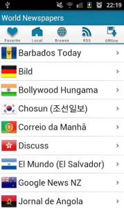 World Newspapers on Android