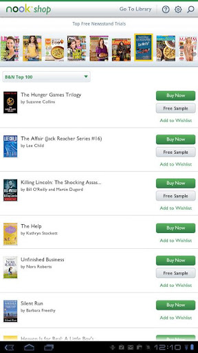 Nook app for android download