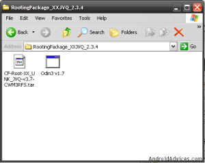 Rooting Package XXJVQ 2.3.4