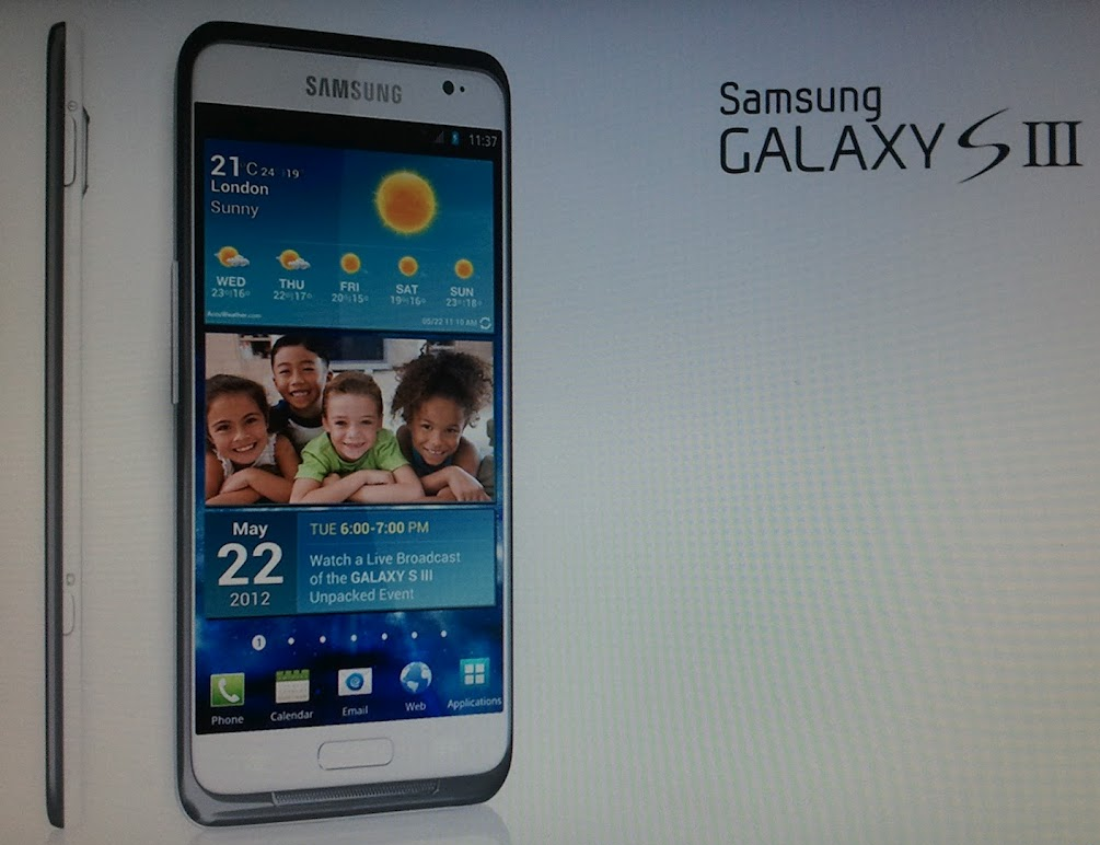 Samsung Galaxy S III Android Phone
