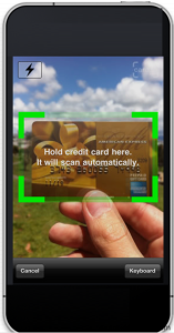 Scan the Card