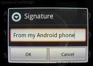 Android Signature