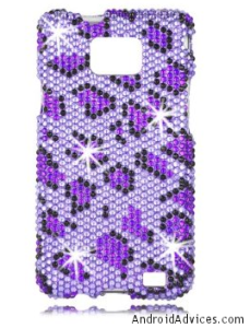 Talon Full Diamond Bling Snap Galaxy S 2