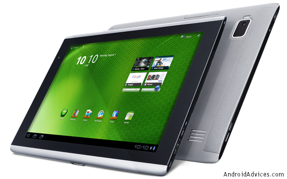 acer iconic tab a500