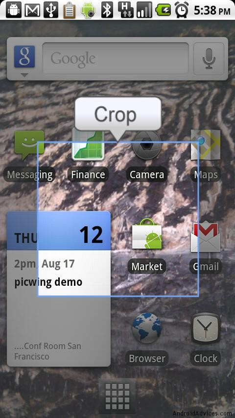 crop image no root screenshot it