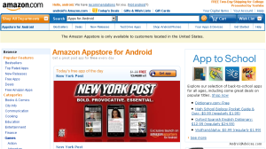 App Store Front View
