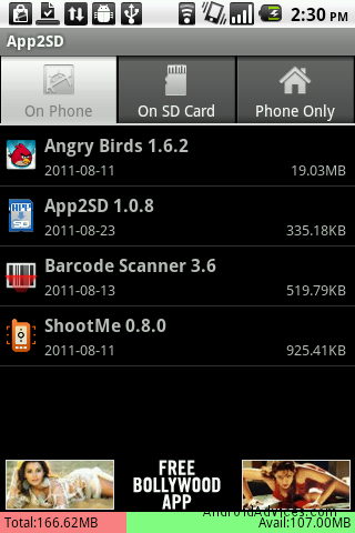 how to make apps download to sd card android