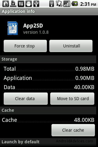Bulk Move Apps to SD Card & Get New Apps Notifications