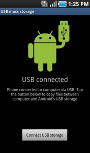 Connect USB Storage