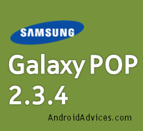 Galaxy POP Update Logo