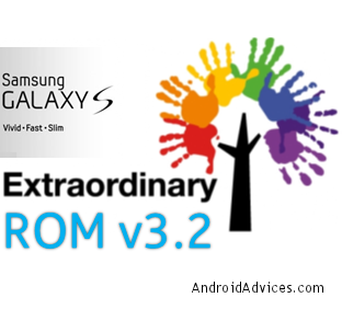 Galaxy S ExtraOrdinary Logo