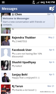 Facebook Messenger Friends