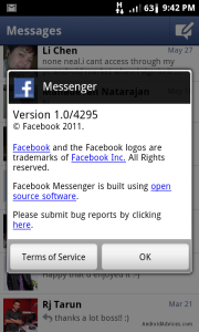 Facebook Messenger Help