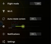 Samsung Galaxy Tab 8.9 Settings