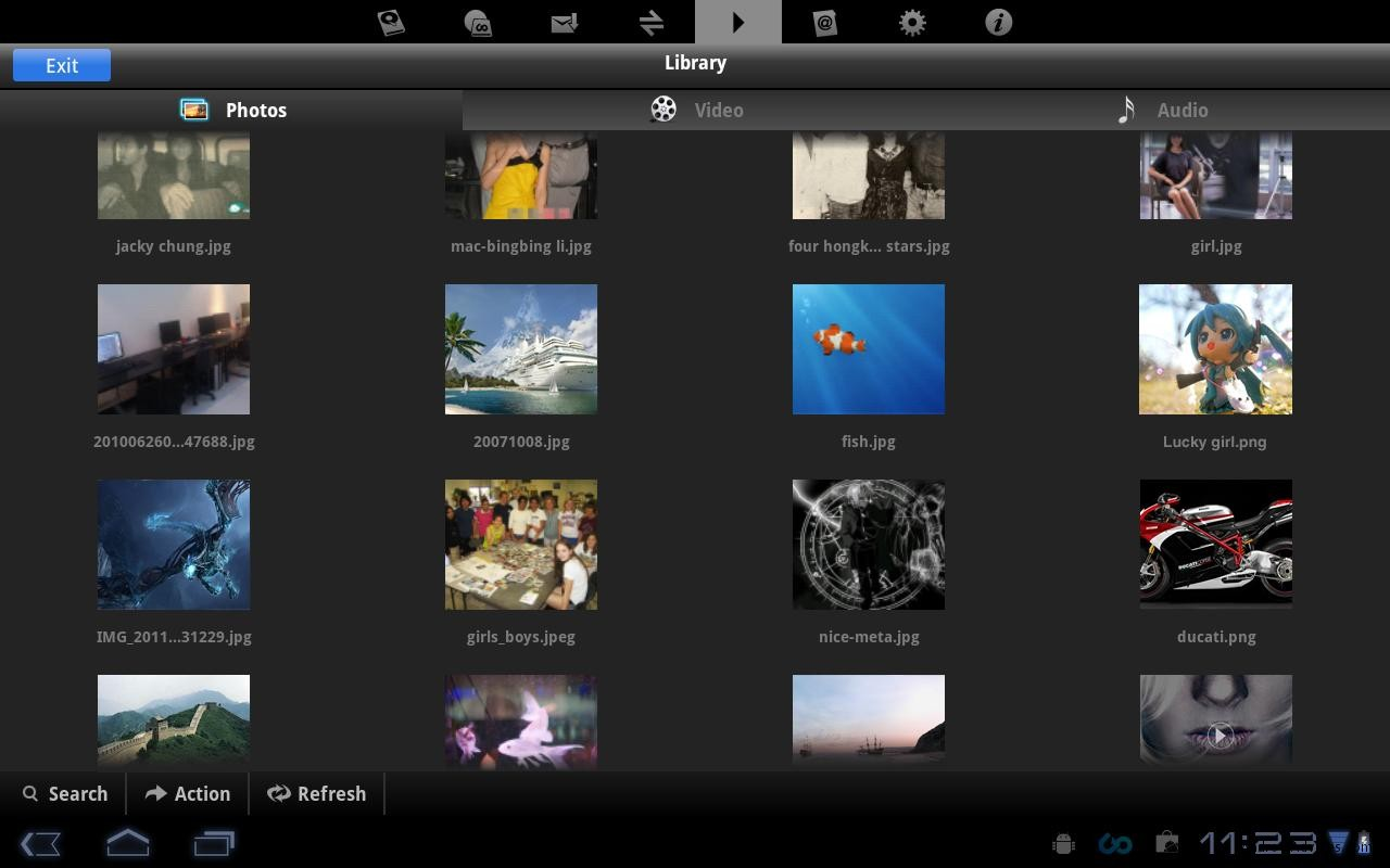 File Manager for Tablets