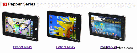 Pepper series tablets