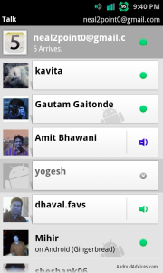 GTalk Video Chat
